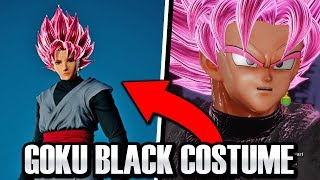 HOW TO GET NEW GOKU BLACK CAC COSTUME! Jump Force Rose Goku Black Raid Reward