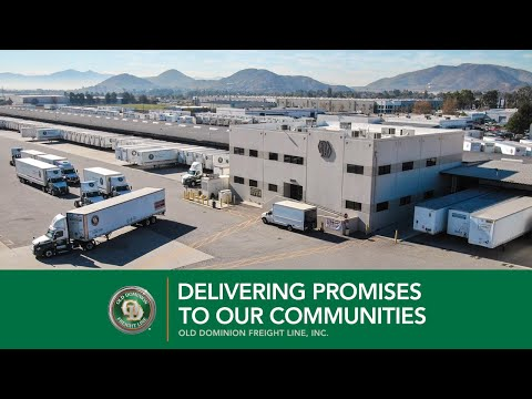 Delivering Promises To Our Communities | Old Dominion Freight Line