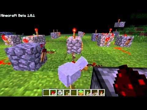 Minecraft tuto redstone pisode 2 les portes logiques for Porte logique