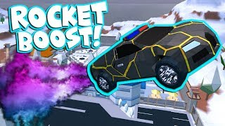 ROCKET BOOST UPDATE IN ROBLOX JAILBREAK!
