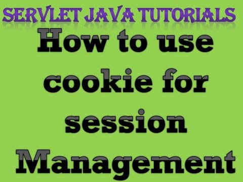 Servlet Java Tutorial Part 8 How to use Cookie for session Management