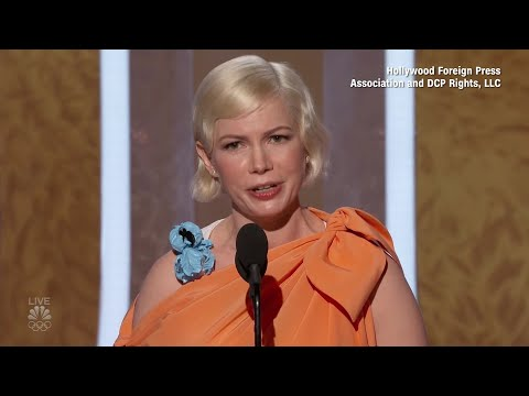 Michelle Williams advocates for abortion rights in Golden Globes acceptance speech