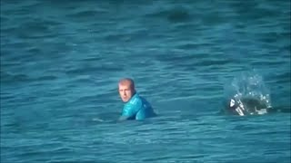 Shark Attacks World Champion Surfer During Competition