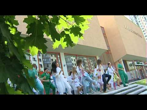 Флешмоб в РДКБ Танцующий город
