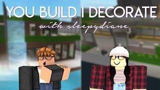 Roblox: Welcome to Bloxburg   You Build I Decorate w/ Sleepy Diane