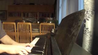Vesa-Matti Loiri& Samuli Edelmann- Tuomittuna kulkemaan piano cover