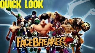 FaceBreaker - Quick Look (Xbox 360)