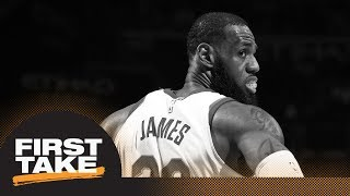 Stephen A. Smith bothered by LeBron James' response to NBA Finals loss question | First Take | ESPN