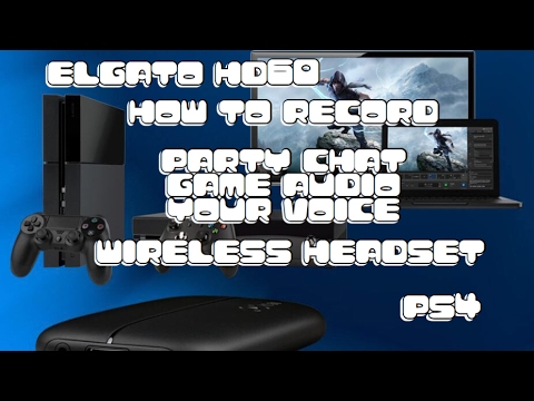 how to set up elgato with ps4