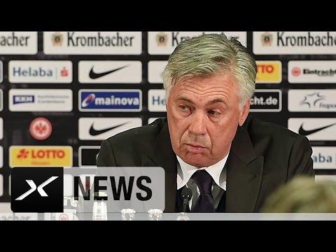 Carlo Ancelotti über Konzentration und Einstellung | Eintracht Frankfurt - FC Bayern München 2:2