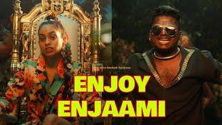 Enjoy enjaami song alli malar kodi angagathamey  trending song