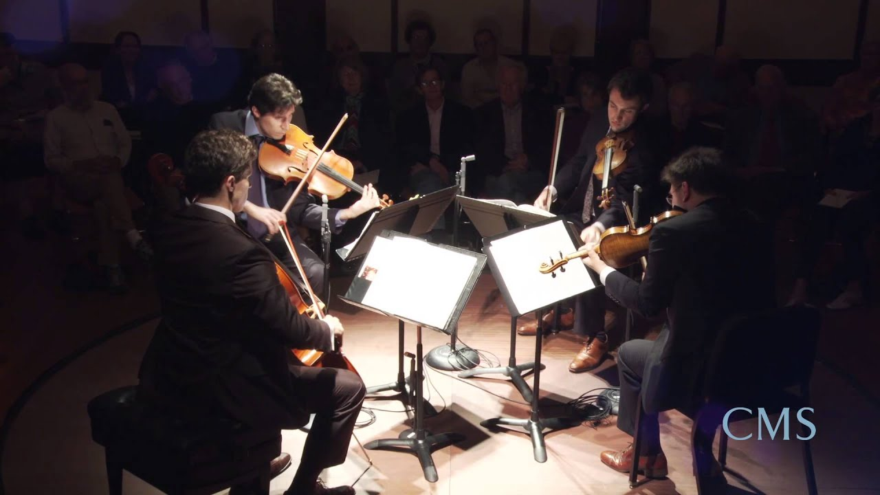 Britten: String Quartet No. 1 in D major, Op. 25, I. Andante sostenuto — Allegro vivo