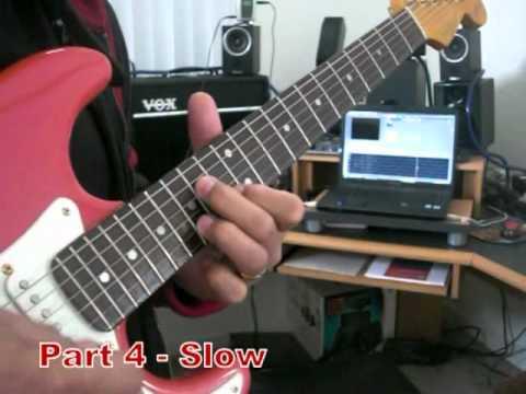 Johnny Guitar - Slow MotionTutorial