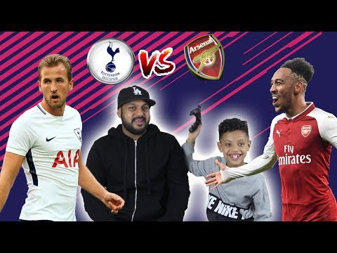 TOTTENHAM VS ARSENAL FIFA 18!! DAD VS SON!! TASH BALLER!!
