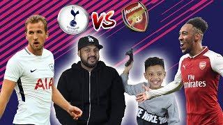 TOTTENHAM VS ARSENAL FIFA 18!! DAD VS SON!! TASH BALLER!!