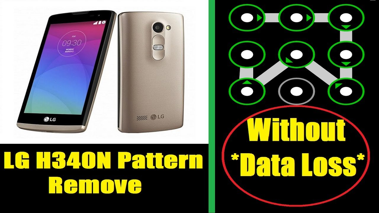 All LG Android Pattern Pin lock,Remove Without Data Loss !!