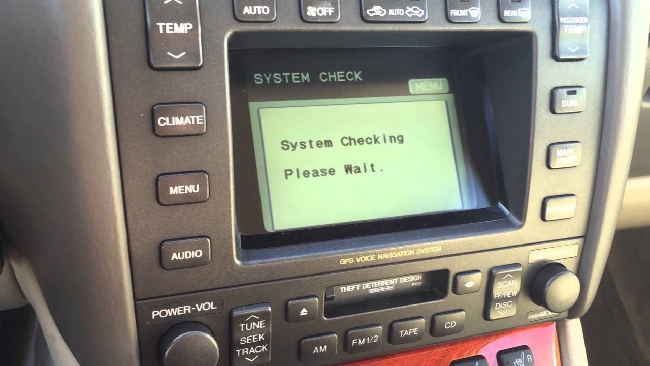 Reprogramming the Lexus Premium Sound Pioneer and for a 99 Lexus