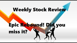 06-10 APR 2020 Weekly Stock Review TSP & ETF's