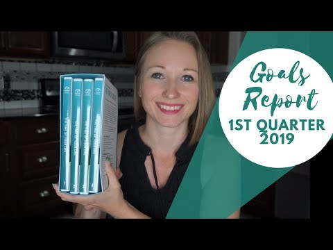Life Categories and Roles | Goals Report 1st Quarter 2019 | Tony Robbins Inspired