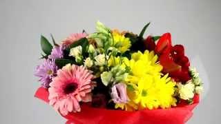 Весенний букет. Заказать доставку цветов - Sendlowers.ua(Моя партнерская программа VSP Group. Подключайся! https://youpartnerwsp.com/ru/join?58794., 2014-03-31T10:17:36.000Z)