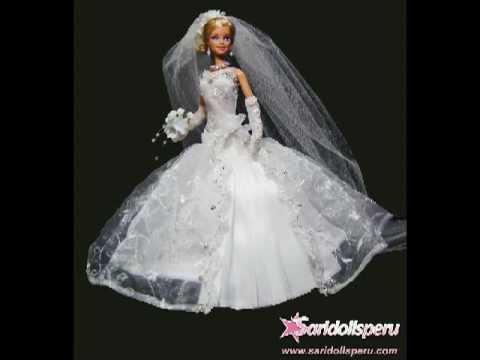Vestidos de novia para barbie