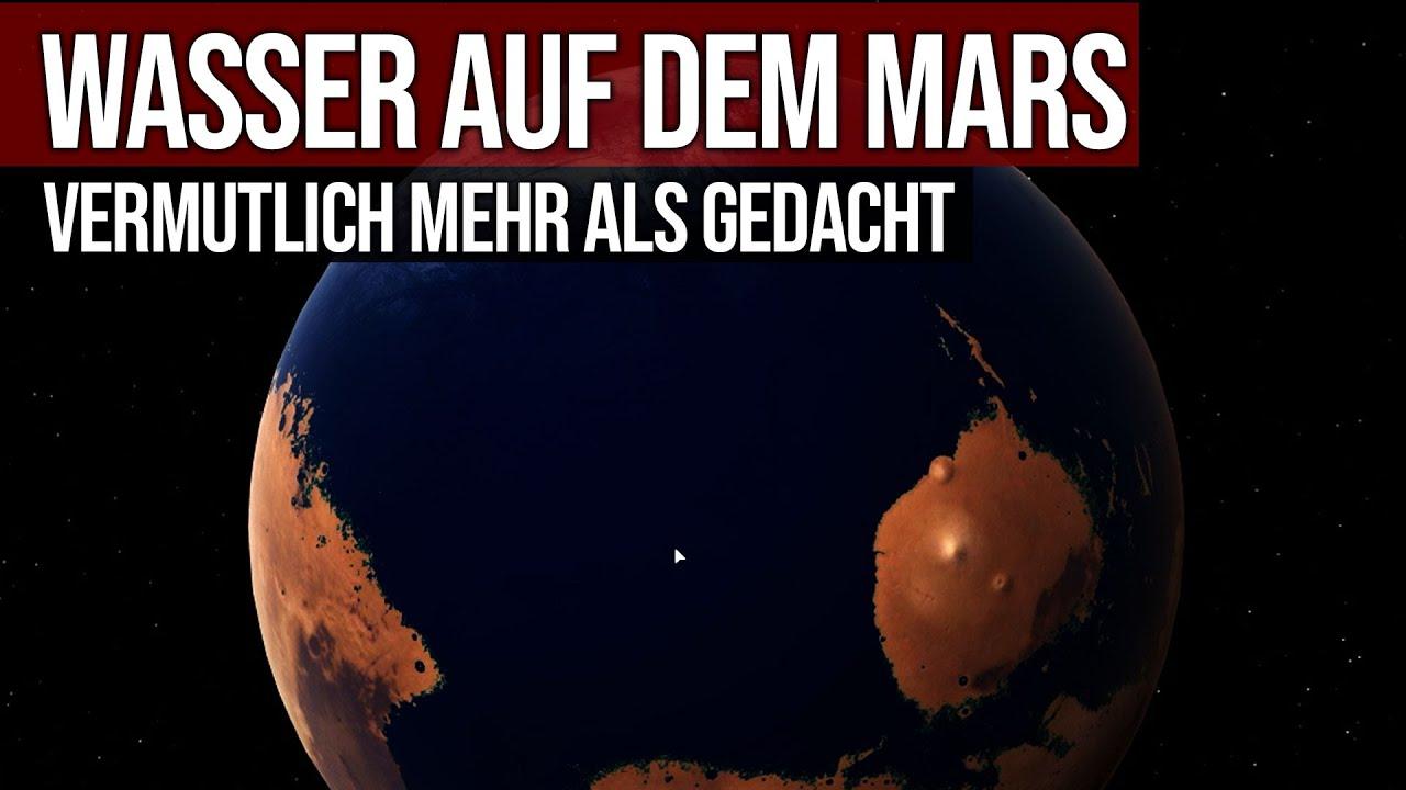 Wasser auf dem Mars - Vermutlich mehr als gedacht