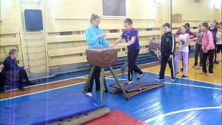 Гимнастика на уроках ФК