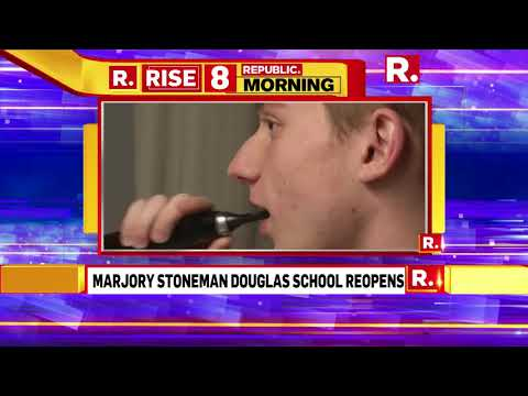 Marjory Stoneman Douglas School Reopens After Mass Shooting