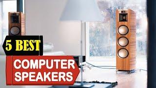 5 Best Computer Speakers 2018 | Best Computer Speakers Reviews | Top 5 Computer Speakers