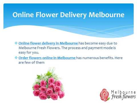 5 Reasons To Buy Online Flowers From Melbourne Fresh Flowers
