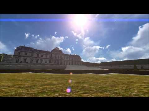 Visite Guidée - 'Château de Clagny' (France) 3D Flythrough