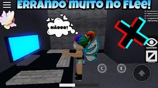 ERRANDO MUITO NO FLEE THE FACILITY! (Roblox)