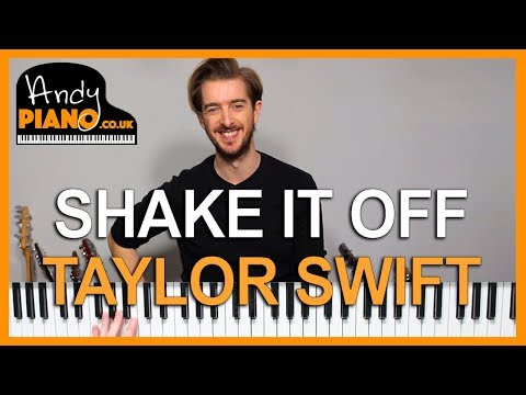 TAYLOR SWIFT - SHAKE IT OFF Piano Lesson Tutorial EASY CHORDS! thumbnail