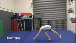 Handstand (Testing skill)