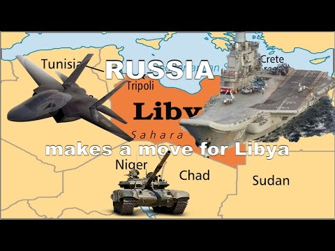 WOW!! Russia is looking to move into Libya just as in Syria, fulfilling Bible Prophecy Ezekiel 38