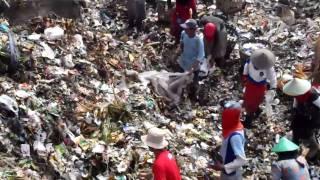 インドネシア、ジョグジャカルタ市のゴミ処理場#2