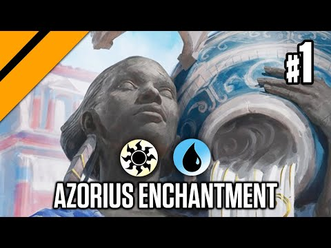 MTGA - Theros Beyond Death Bo3 Constructed - Azorius Enchantment Control P1