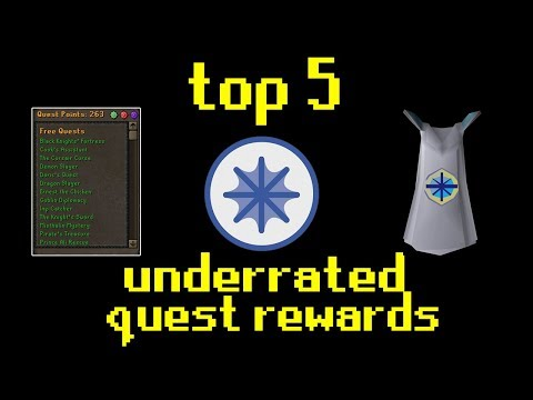OSRS's Top 5 Underrated Quest Rewards