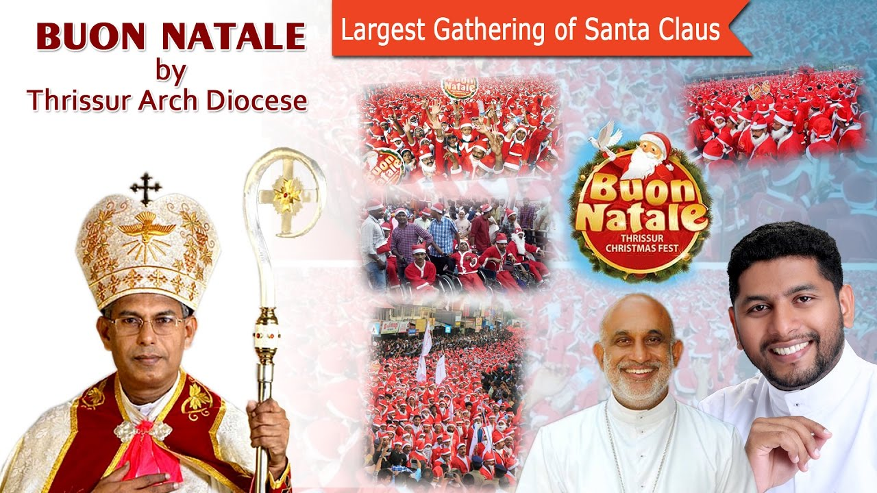 Buon Natale Thrissur.Buon Natale By Thrissur Arch Diocese Pauravali Merry Christmas