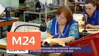 Смотреть видео Эксперты подсчитали размер средней зарплаты в России - Москва 24 онлайн
