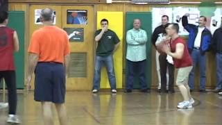 Mountainside, NJ Police vs Fire Dept. Basketball 2008