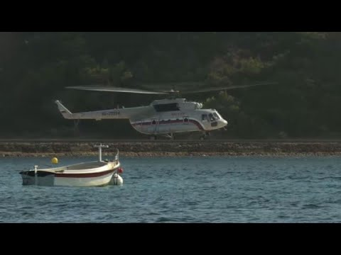 L'hélicoptère de Vladimir