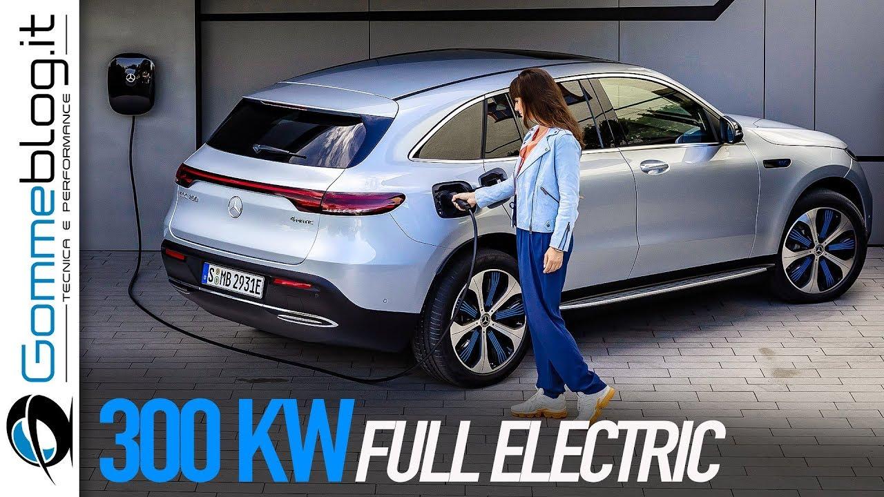 Mercedes Eqc The New 2019 Electric Suv Tesla Model X Killer