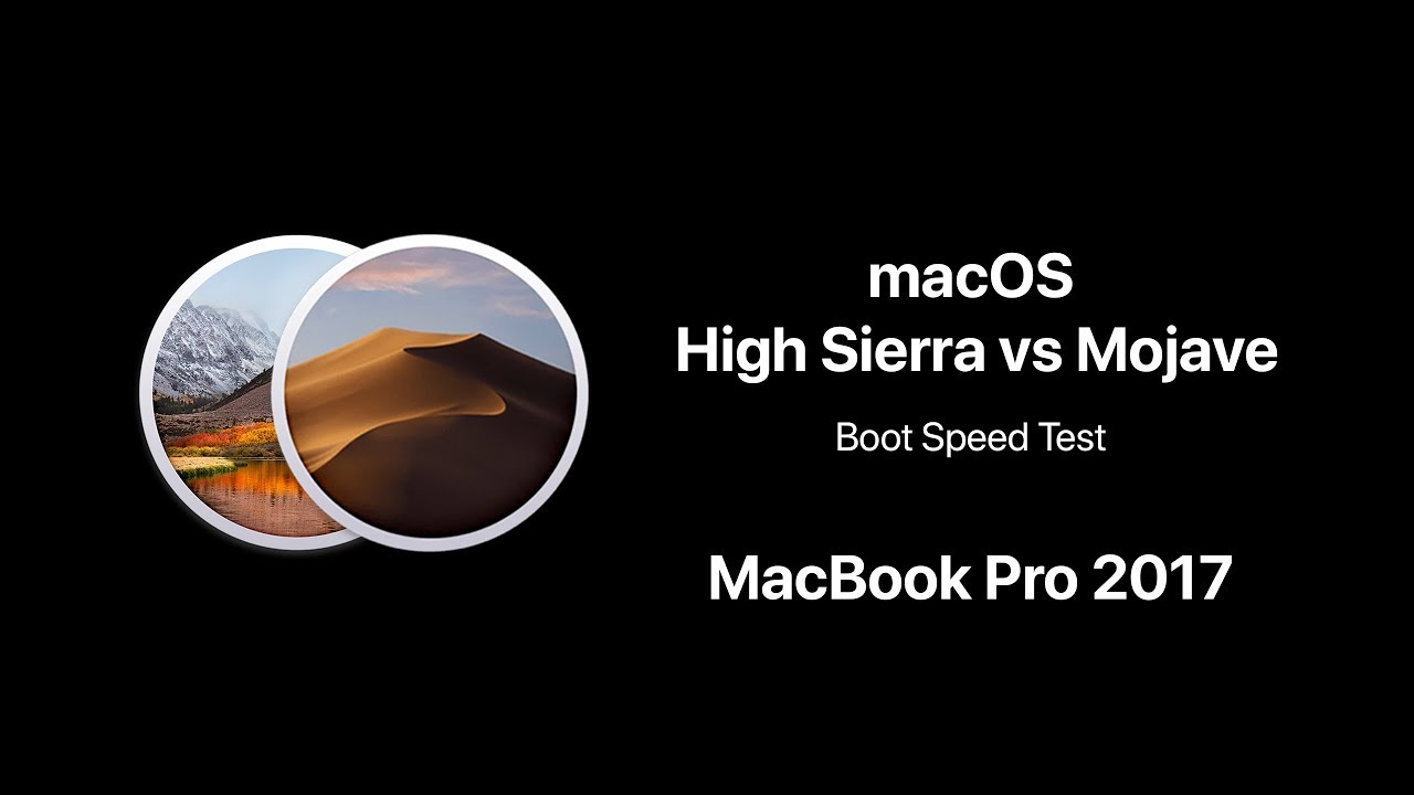 high sierra vs mojave