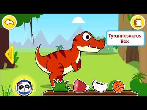 Baby Panda Dinosaur Planet   Dinosaurs Games For Kids   Play and Learn Dinosaurs   TwinkleStarsTV