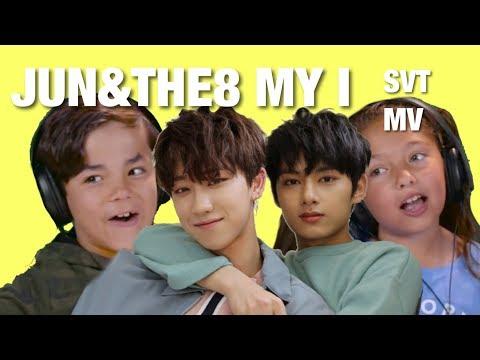 KIDS REACT TO SVT (JUN&THE8) 'MY I' MUSIC VIDEO KOR ver