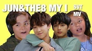 Gambar cover KIDS REACT TO SVT (JUN&THE8) 'MY I' MUSIC VIDEO KOR ver