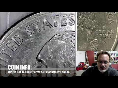 Coin Show #49: State Quarter Doubled Dies Pt. 2