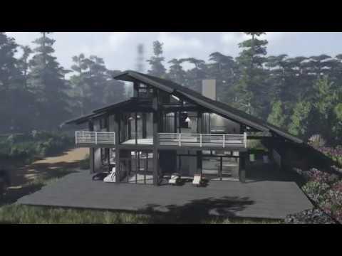 Проект дома фахверк