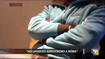 Noi jihadisti arriveremo a Roma